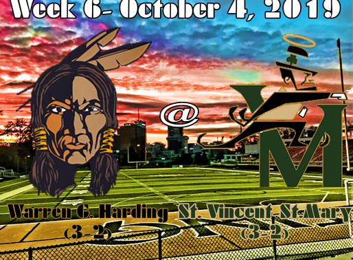 Week 6 Game Preview- Warren G. Harding (3-2) @ Akron St. Vincent-St. Mary (3-2)