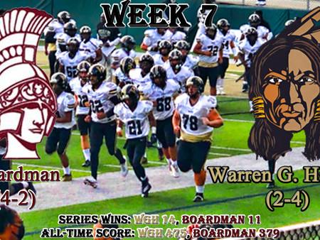 Week 7- Boardman (4-2) @ Warren G. Harding (2-4)