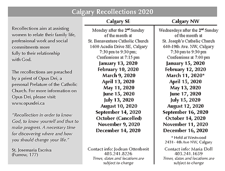 New Calgary rec card 2020 Side 2 June 6.