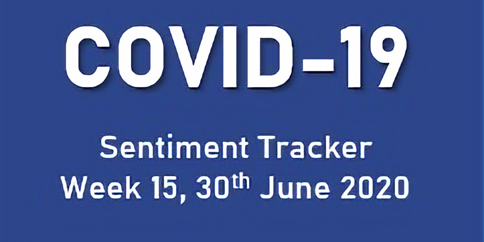 COVID-19 Sentiment Tracker check-in Week 15