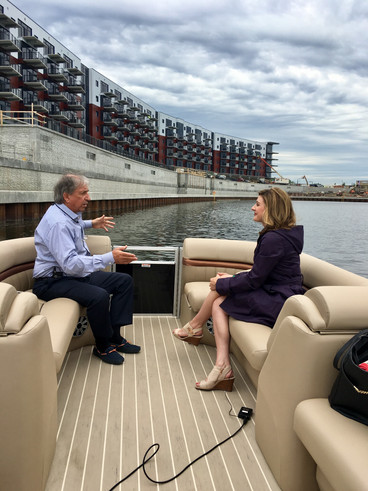 Only on 6: Exclusive look inside Mohawk Harbor, details on new riverfront amphitheater