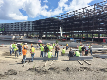 Topping off Ceremony at The Riverhouse