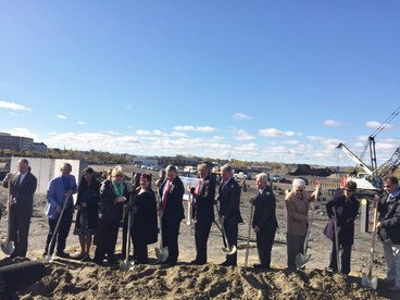Groundbreaking for New Courtyard by Marriott Hotel at Mohawk Harbor