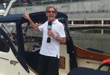 Mohawk Harbor 1st Boater – Geraldo Rivera