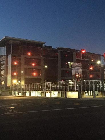 Tonight is the last night to see our building Glow Red for the Go Red For Women campaign. Join us on