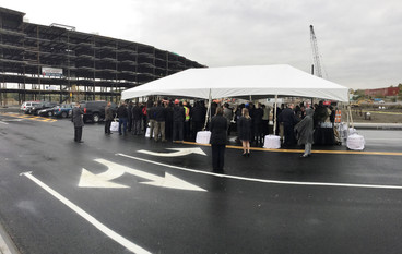 Schenectady's Harbor Center celebrates ceremonial groundbreaking