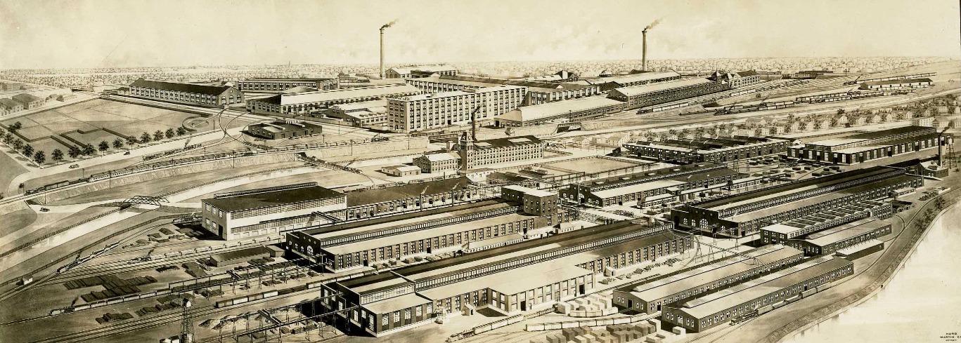 Former Home - American Locomotive Co