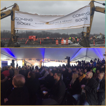 Rivers Casino & Resort Schenectady Celebrates Start of Construction with Ceremonial Groundbreaki