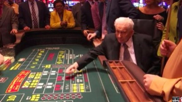 93-year-old Man First to Roll the Dice at Rivers Casino