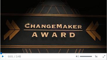 Capital Region Annual Dinner - Change Maker Award