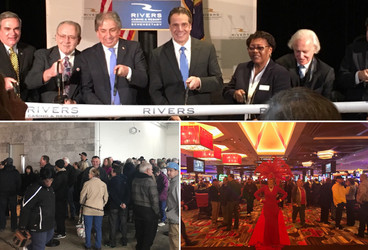 #TBT February 8, 2017 people were lined up anxiously waiting for Rivers Casino & Resort Schenect