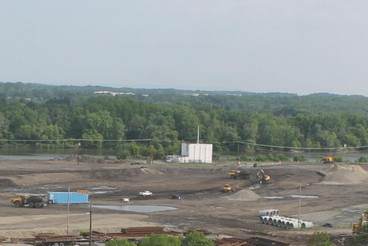 The Future Slipping Into View; Harbor work underway at former Alco site