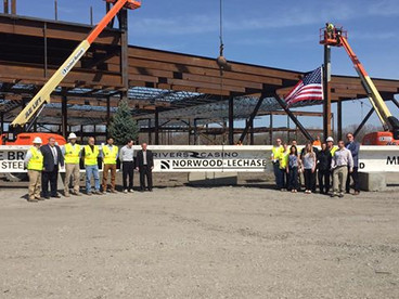 Rivers Casino & Resort Schenectady Celebrates Construction Milestone with Topping Off Ceremony