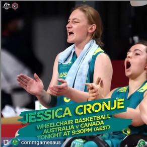 Jess back from Tokyo 2020 Paralympics