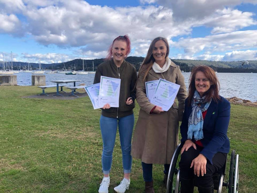 COASTABILITY SCHOLARSHIPS FOR CENTRAL COAST CPSARA ATHLETES TAHLIA & RAE