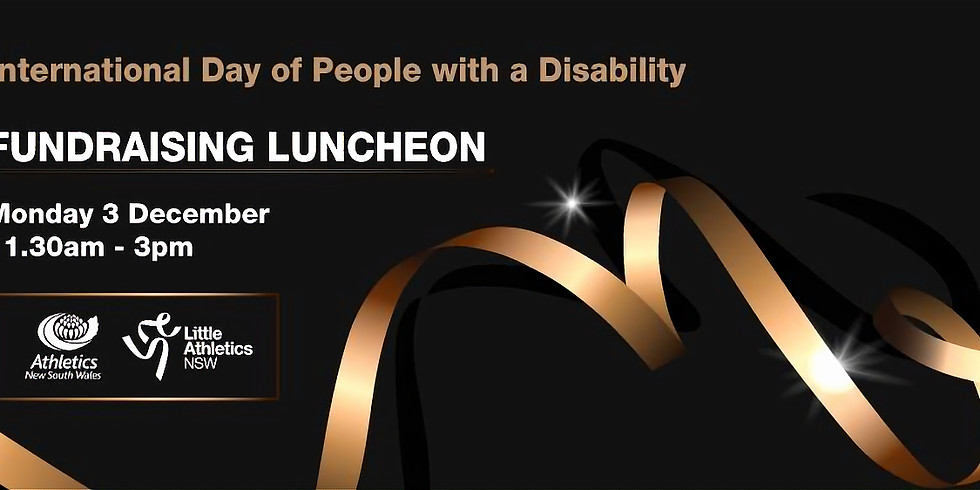 International Day of People with a Disability -Fundraising lunch