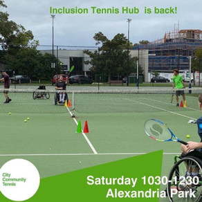 TENNIS SOCIAL EVENT EVERY SATURDAY
