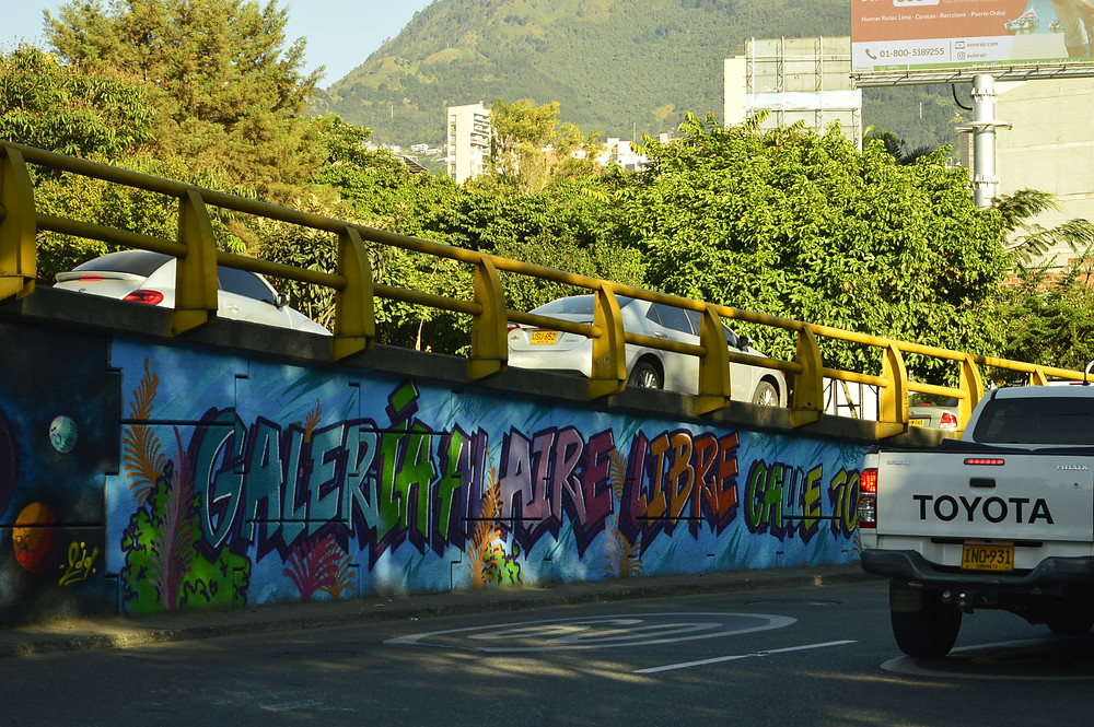 arte urbano gráfico grafiti en Medellín