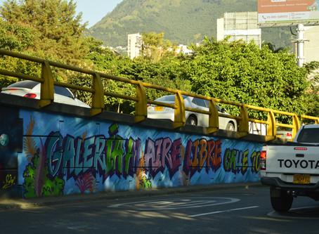 Arte gráfico en el espacio público de Medellín