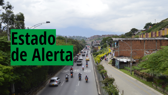 Estado de alerta por mala calidad del aire en Medellín