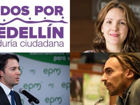 Llegaron a Medellín los vicios del debate político nacional