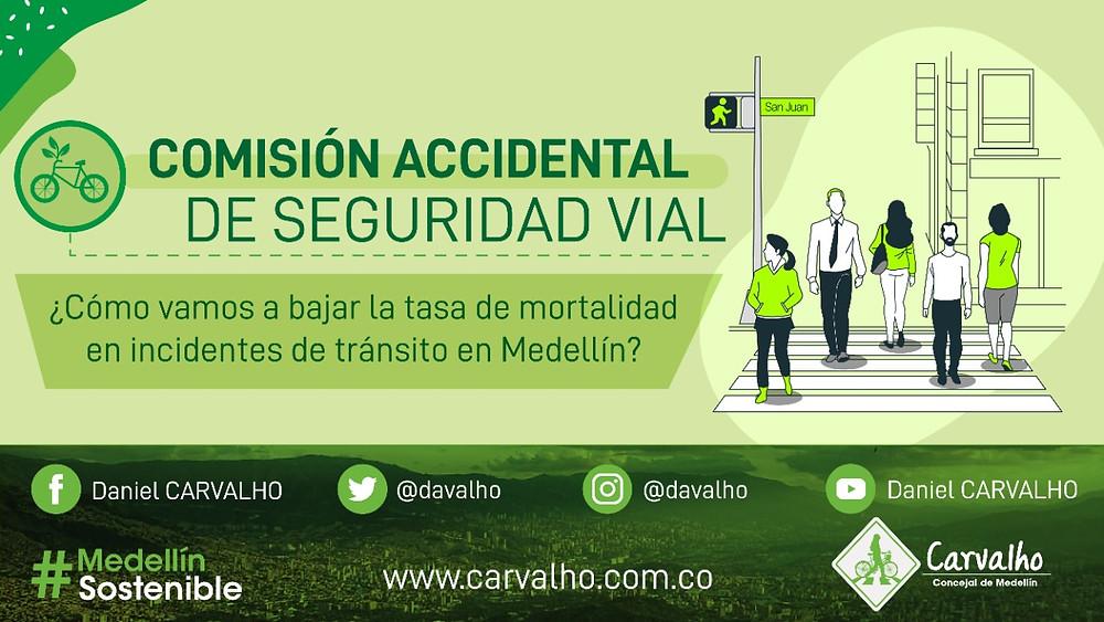 seguridad vial vision cero medellin