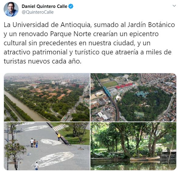 Universidad de Antioquia sin rejas. Medellín y zona norte.