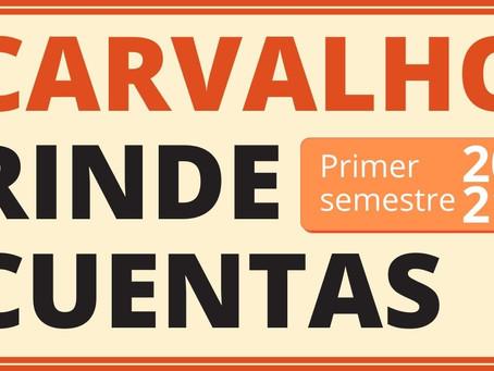 CARVALHO RINDE CUENTAS [1er semestre 2021]