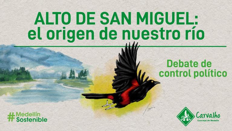 💧 Alto de San Miguel: el origen de nuestro río Medellín