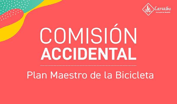 comision accidental plan maestro de la bicicleta