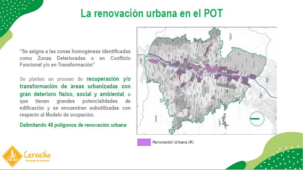 renovacion urbana y pot medellin