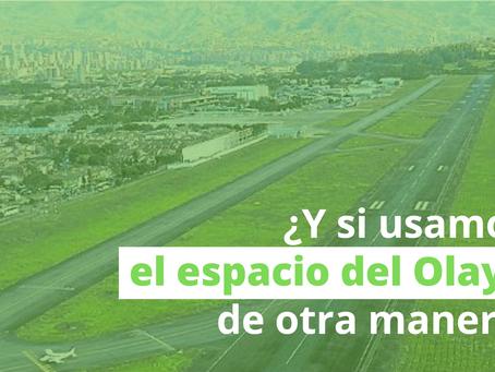 ¿Puede usarse el espacio del aeropuerto Olaya Herrera para hacer un parque?
