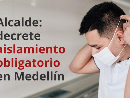 Concejales piden al alcalde hacer simulacro de aislamiento en Medellín