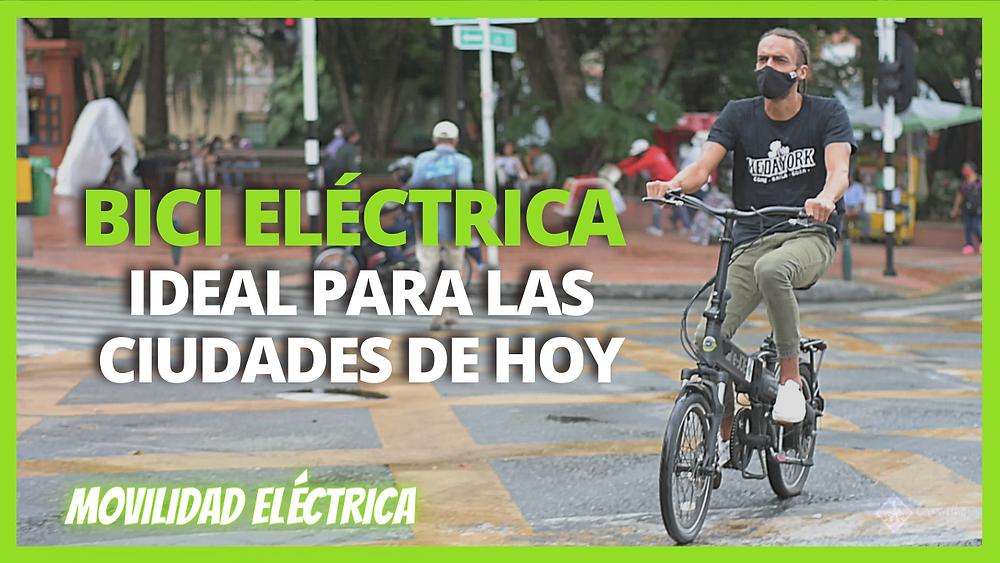 daniel carvalho bicicleta eléctrica medellin