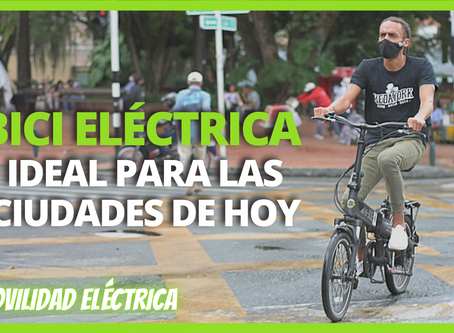🚲 Las BICICLETAS ELÉCTRICAS son el vehículo ideal para las ciudades de hoy