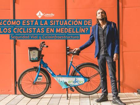 El difícil camino de las ciclorrutas en Medellín