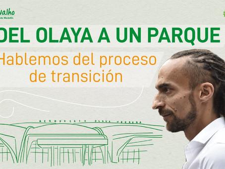 Propuesta para iniciar el proceso de transición del aeropuerto a un parque