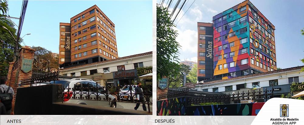 arte gráfico urbano en Medellín | galería al aire libre de la 10
