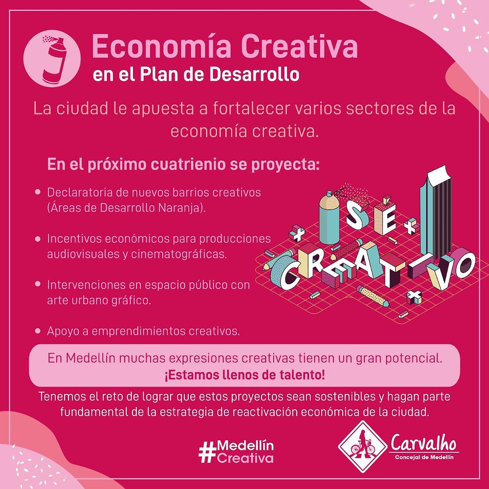 economía creativa medellin