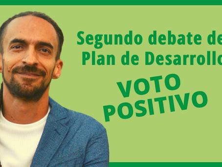 Por qué voto positivo el Plan de Desarrollo de Medellín