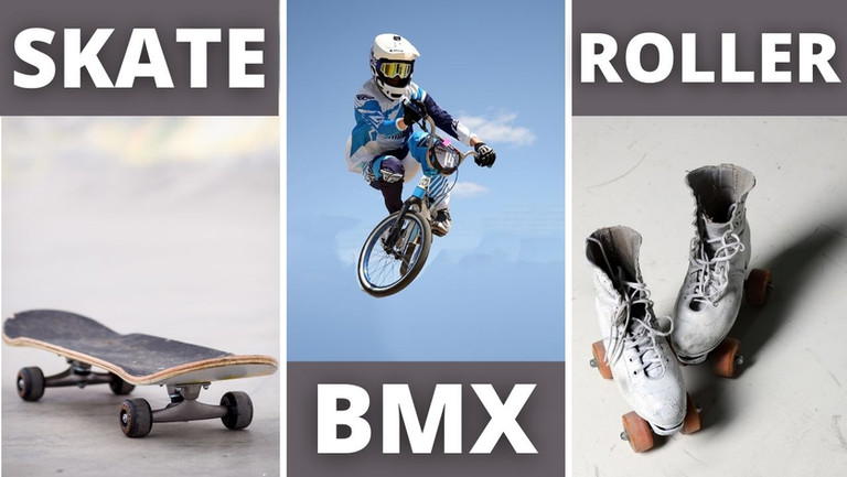 🛹 SKATE, BMX y ROLLER SKATING: deportes emblemáticos de la cultura urbana