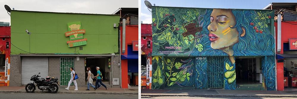 galeria de arte de la 10 medellin | recorrido grafiti y muralismo
