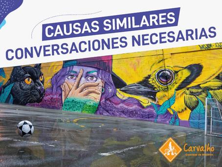 BARRISTAS Y GRAFITEROS: causas similares, conversaciones necesarias