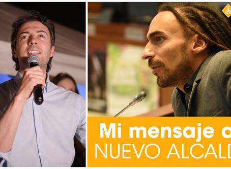 CARVALHO a Daniel Quintero • Mensaje al nuevo alcalde de Medellín