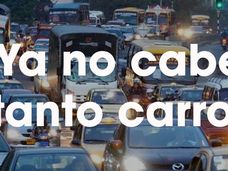 El desbordado crecimiento del parque automotor en Medellín