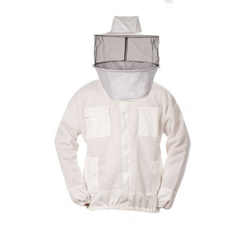 Ventilated Jacket With Round Veil
