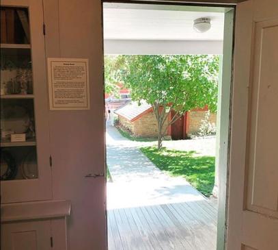 Backdoor to root cellar.JPG