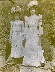 Clara and Mary Yaryan Schick [DCHS][c. 1