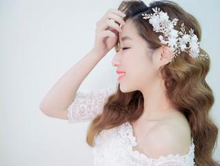珍珠 蕾絲與花