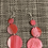 Thumbnail: Pretty Valentine pink n red with a touch a silver sprkle